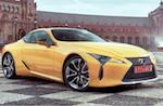 Lexus LC удостоен премии Production Car Design of the Year