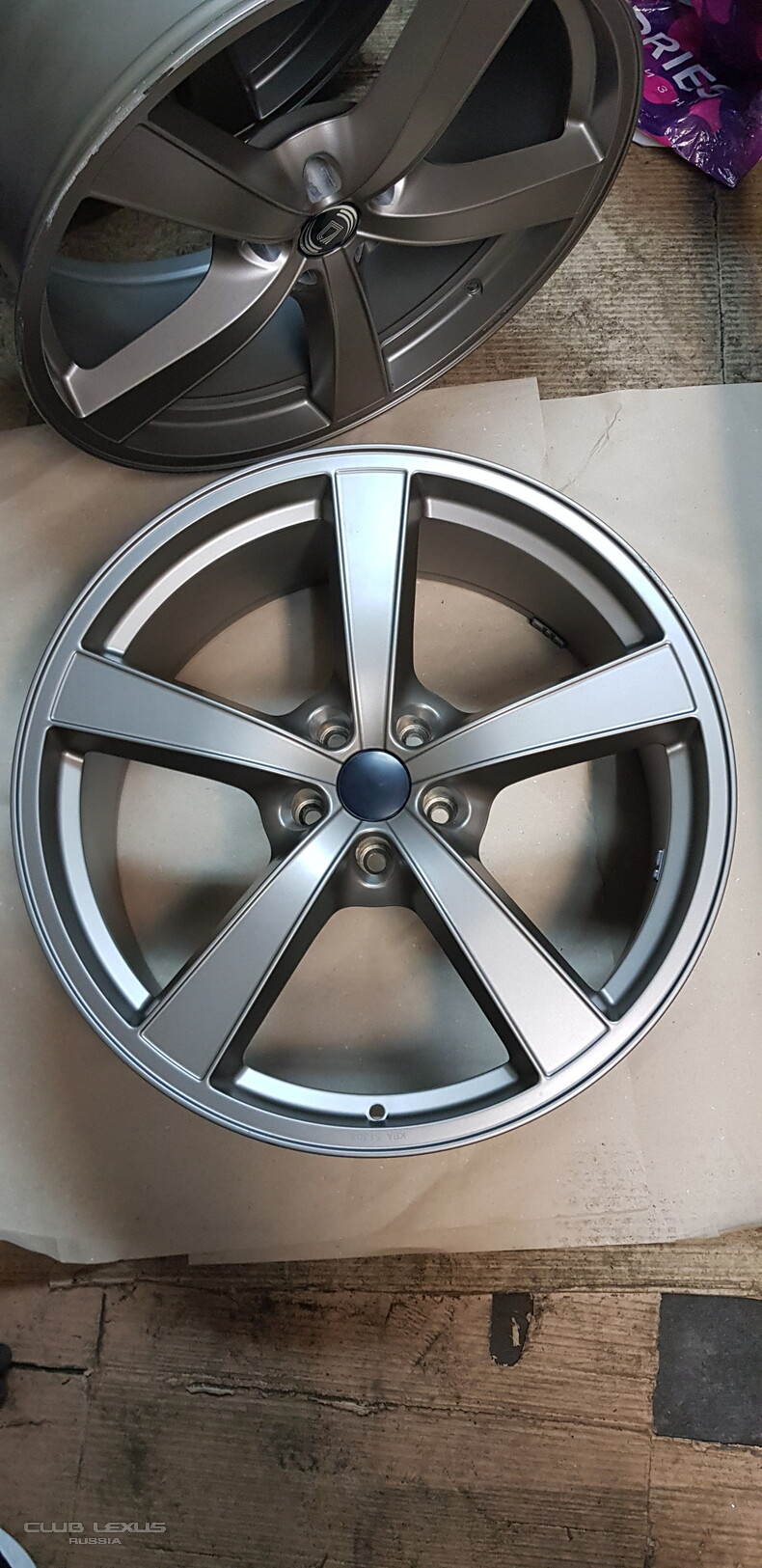 ПроданоДиски R21 Diewe wheels Germany 5x114,3 9J ET40