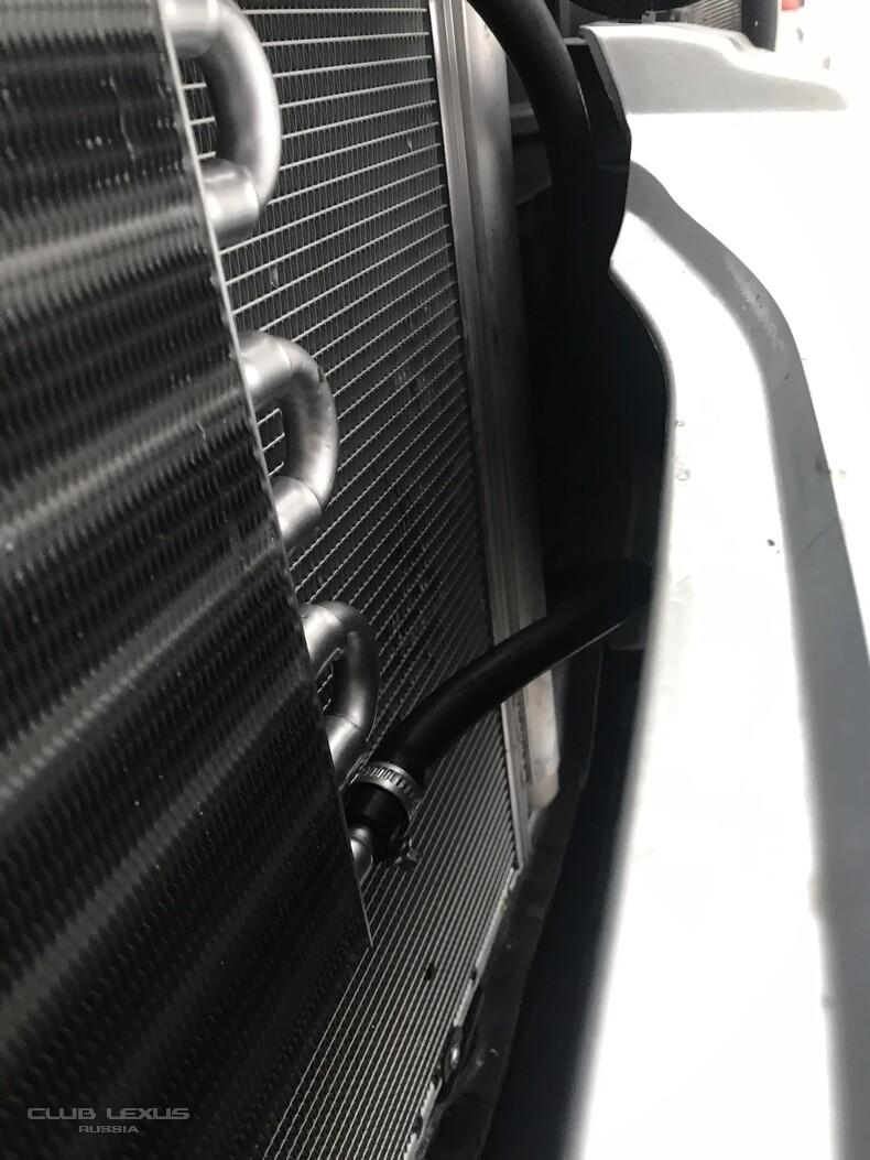 Дополнительный радиатор АКПП Lexus rx330, подключение