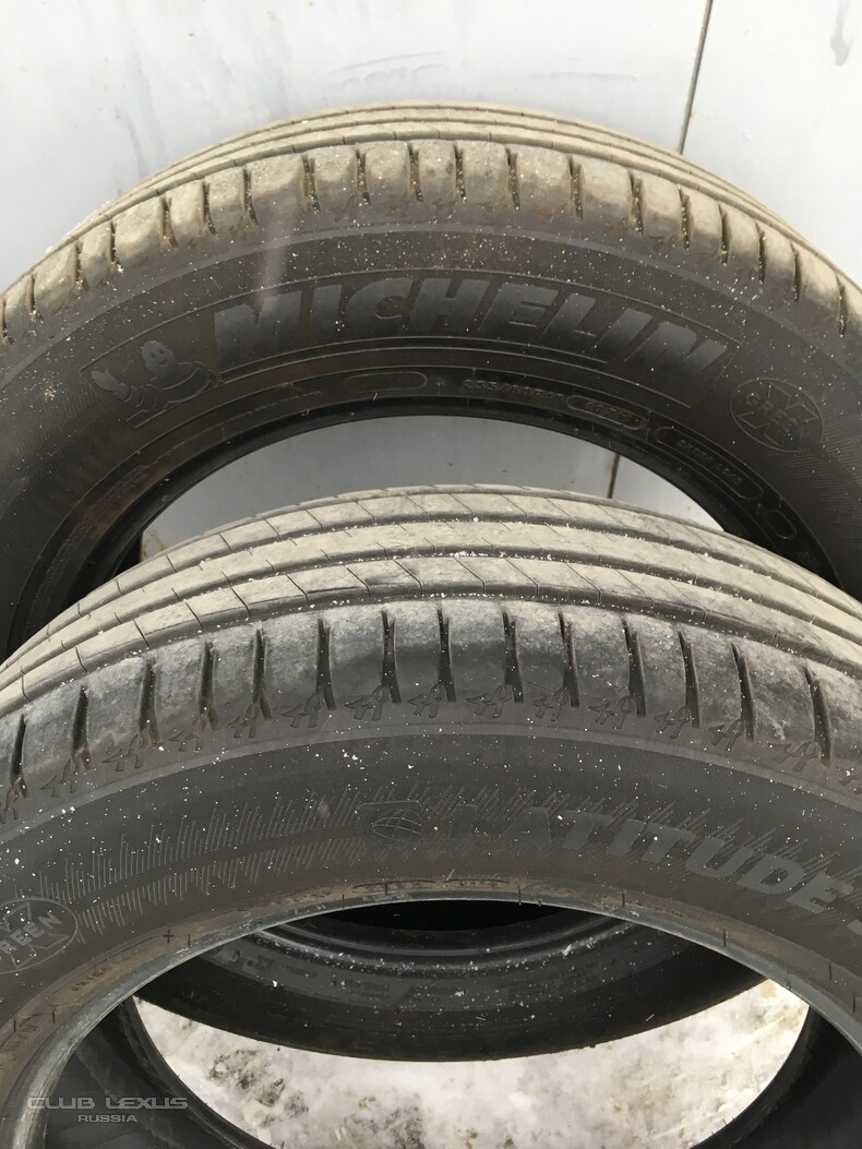 Летние шины Michelin Latitude Sport 3 235/60 R18