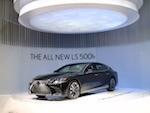 Новый Lexus LS 500h и RC F GT3 представлены в Женеве