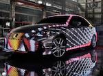 LIT IS - проект Lexus IS, который меняет цвет.