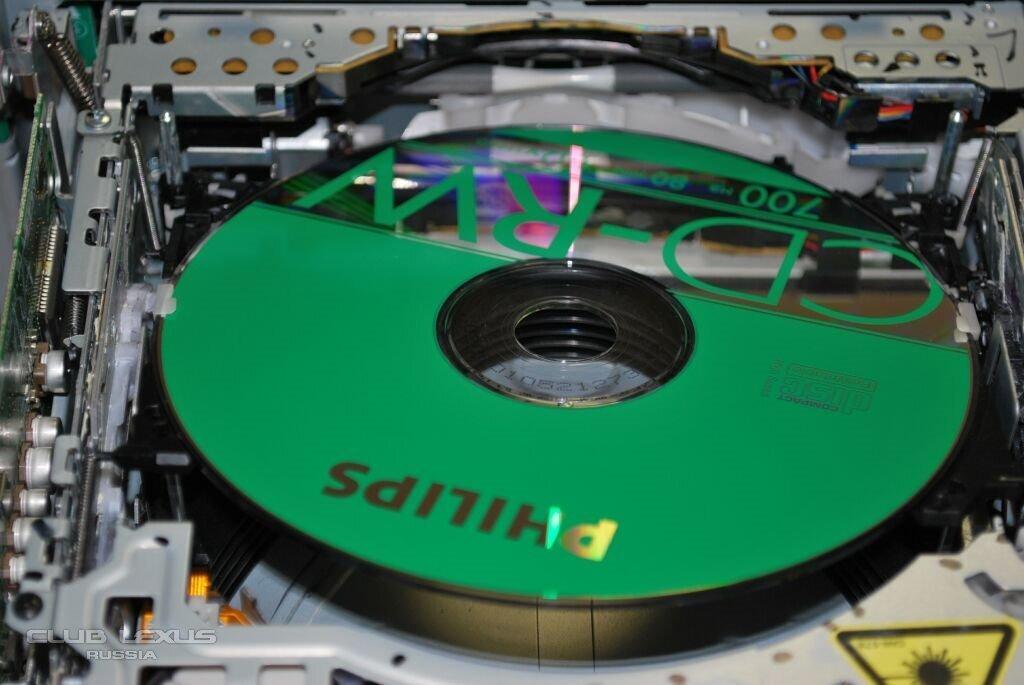 lexus 6 disc cd changer troubleshooting