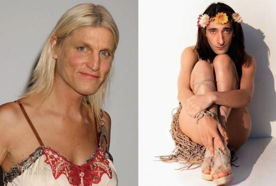 секс фото мужчин в женском обличии