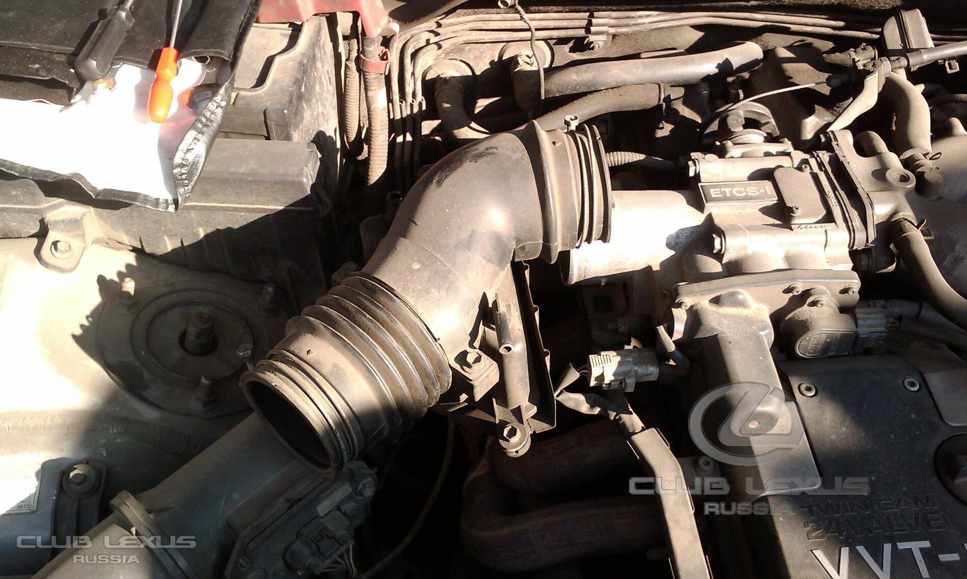 Дрожжание двигателя при разгоне