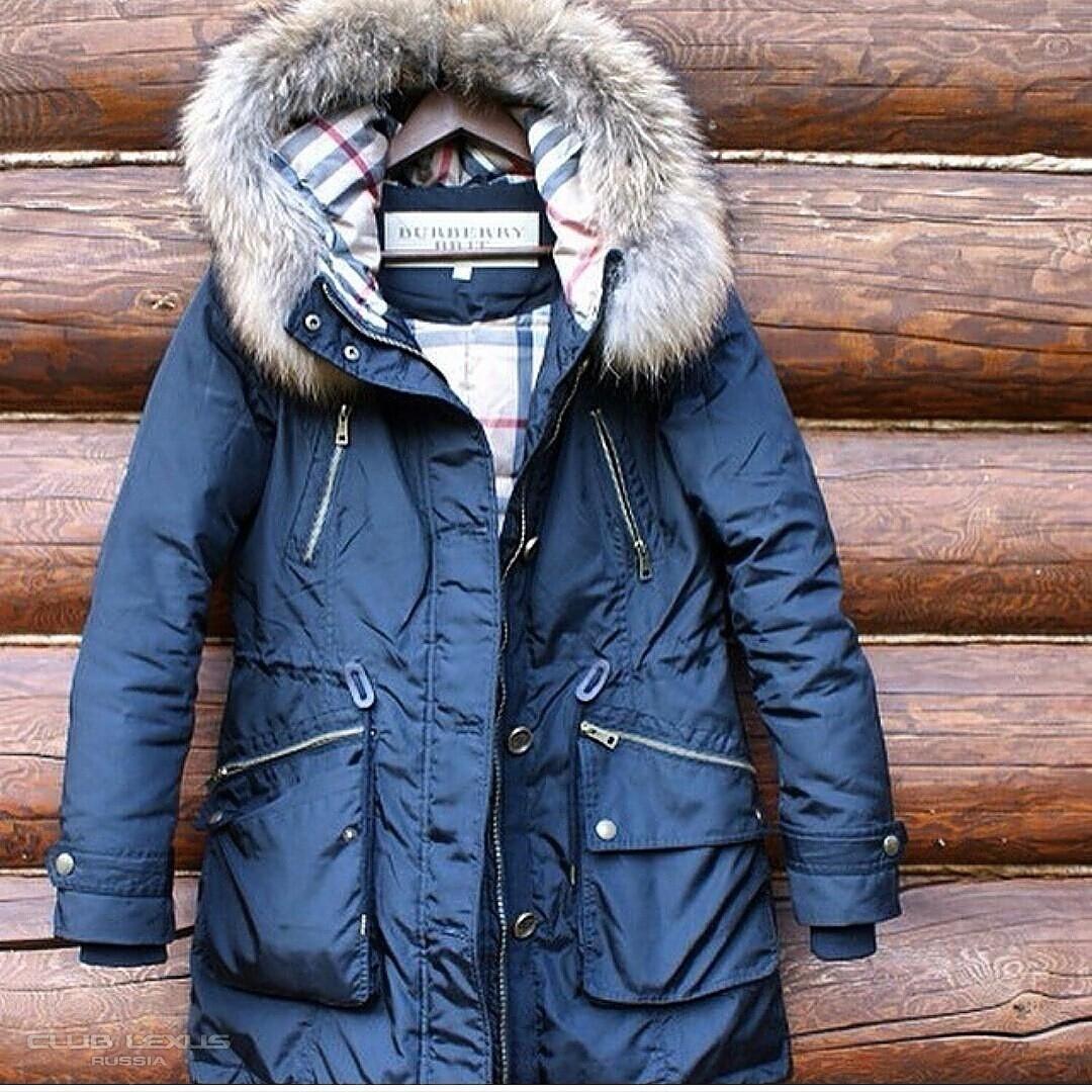 Купить зимнюю куртку барбери плащи женские уфа