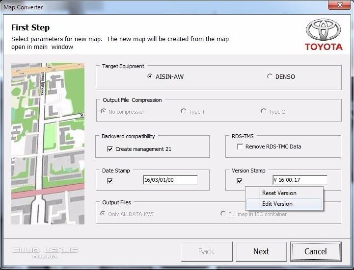 KIWI Format Explorer Просмотр карт на ПК