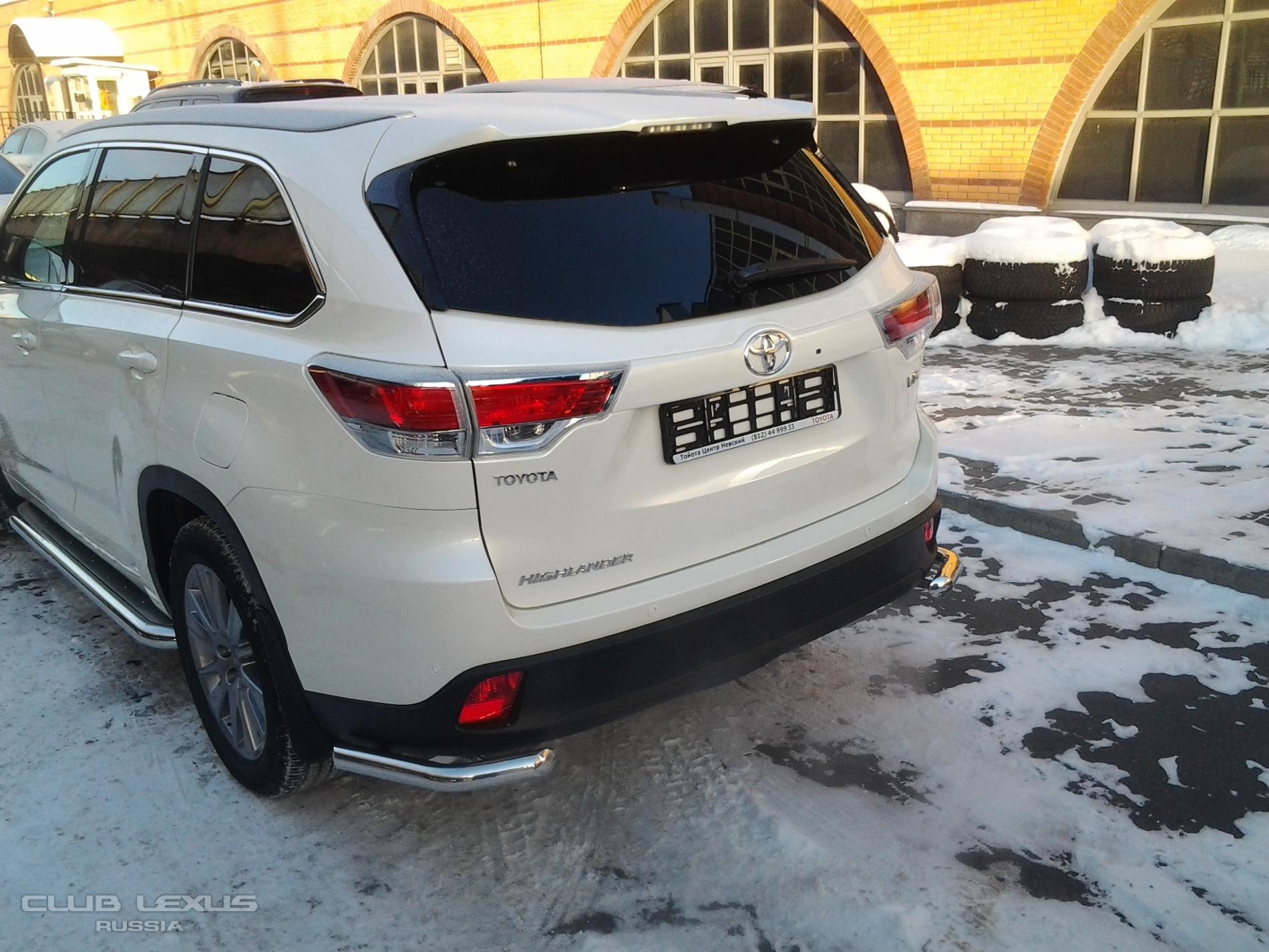 Отзывы о новом Тойота Хайлендер (Toyota Highlander) с ФОТО