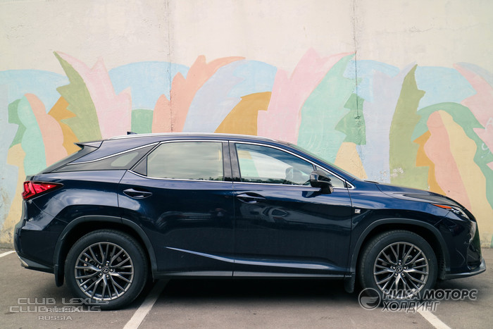 Обзор Lexus RX 350 F Sport : This isn't your mama's RX!