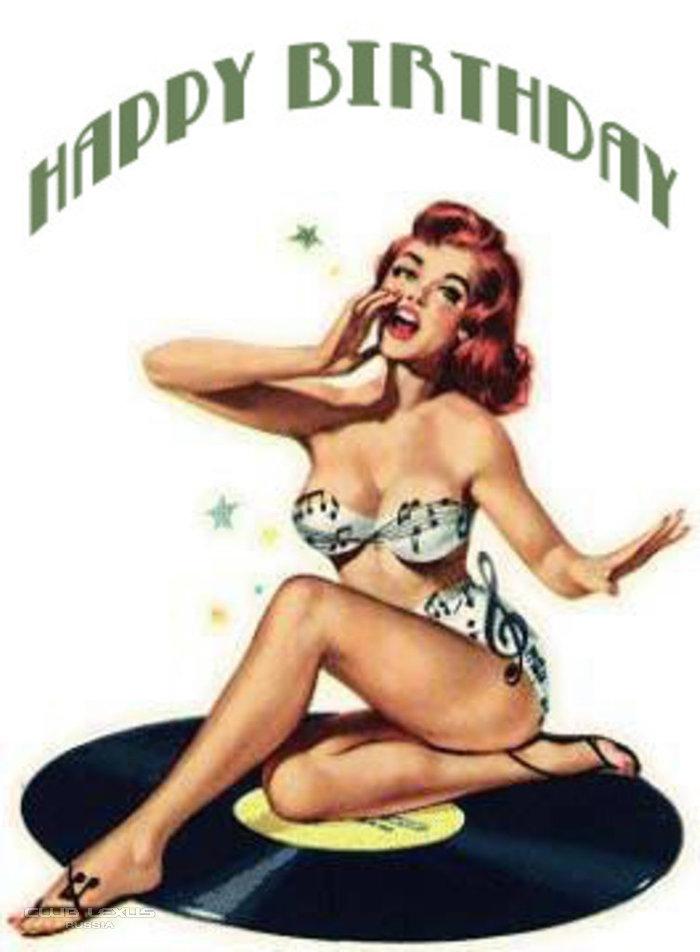 пинап открытки с днем рождения многие другие фотографы